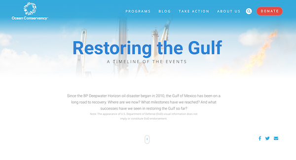 Ocean Conservancy - Restoring the Gulf